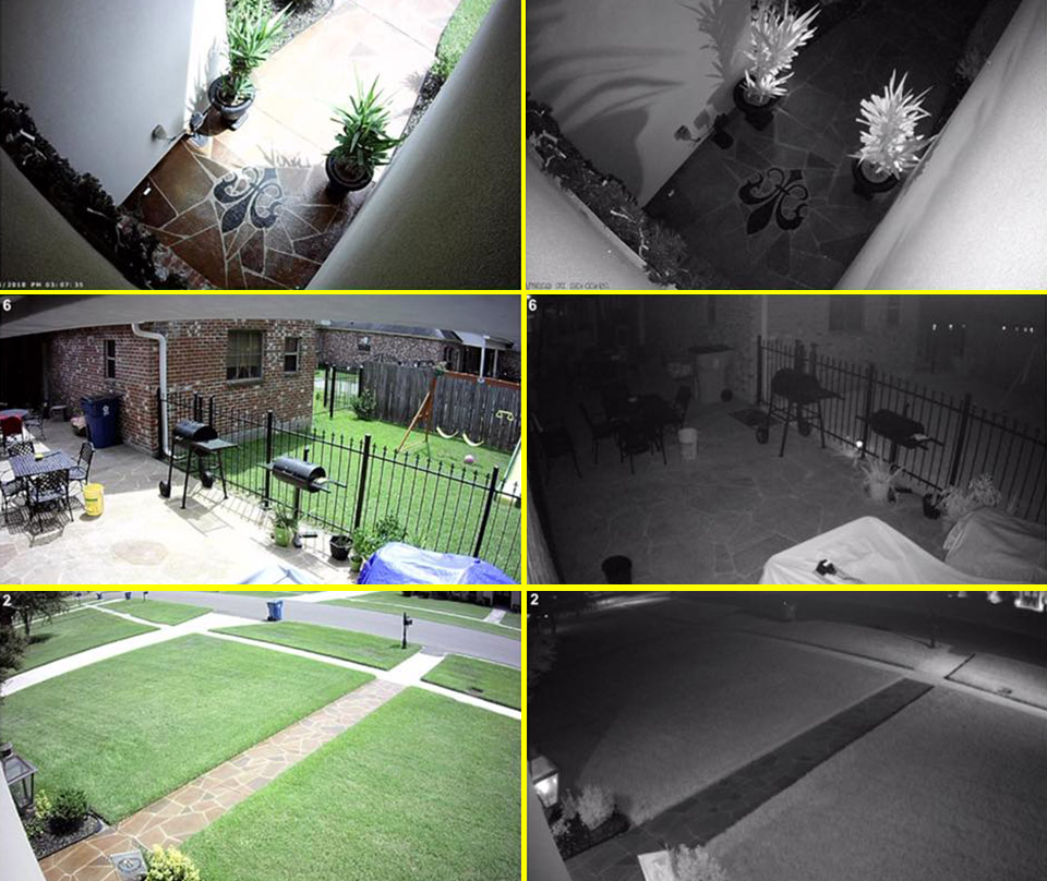 Residential Camera Feeds